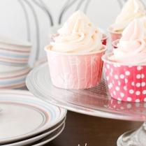Vaniljecupcakes med kremostfrosting